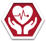 stop sign blood work icon