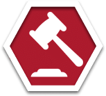 stop sign legal icon