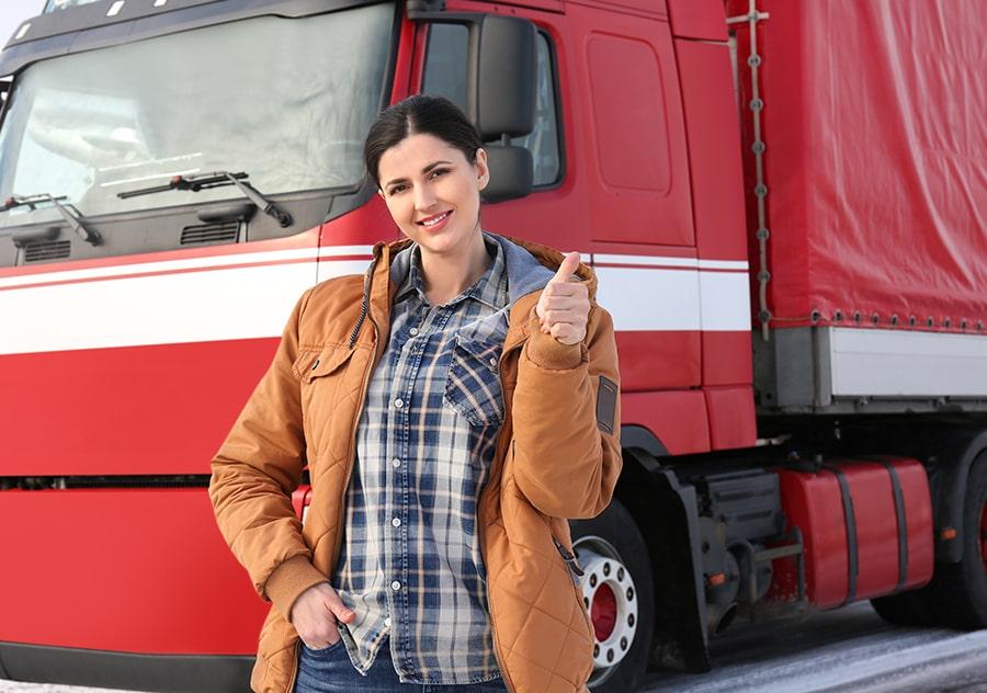 DOT Female Trucker-min