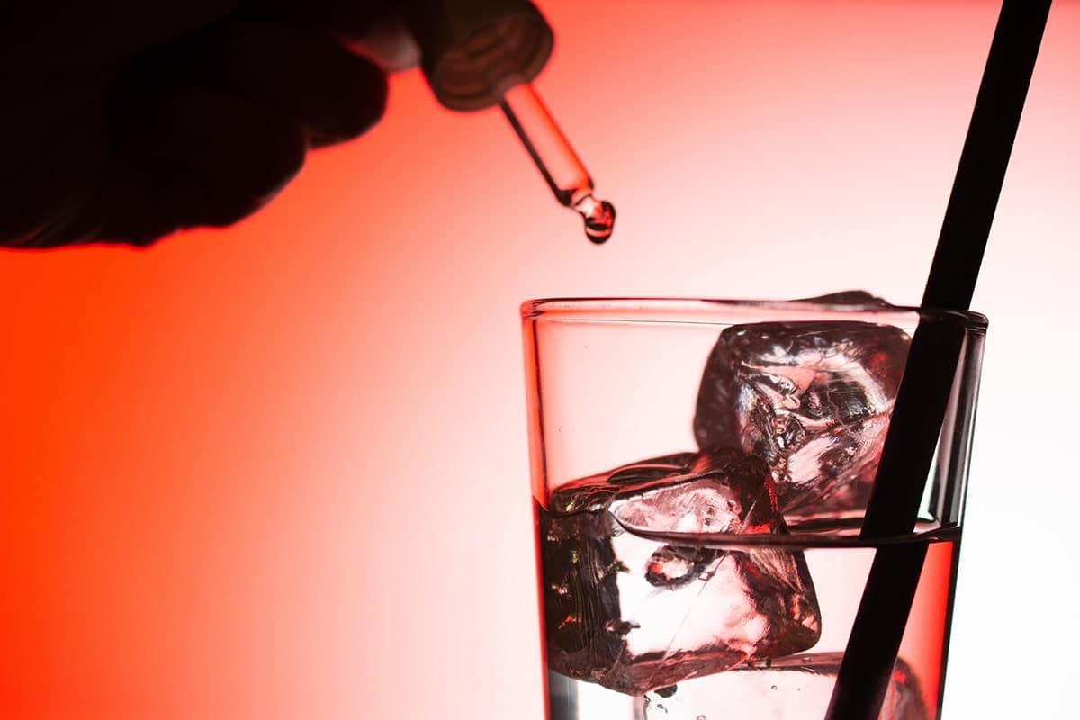 Date Rape Red Drink Glass-min