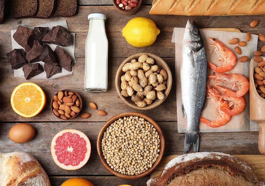 Allergy Food Broad Spectrum of Foods-min