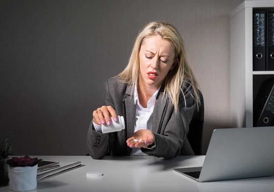 Drug Use Office Female-min