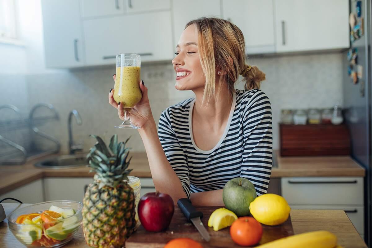 Healthy 40 Woman