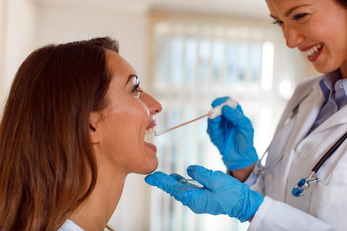Oral Fluid Female Test