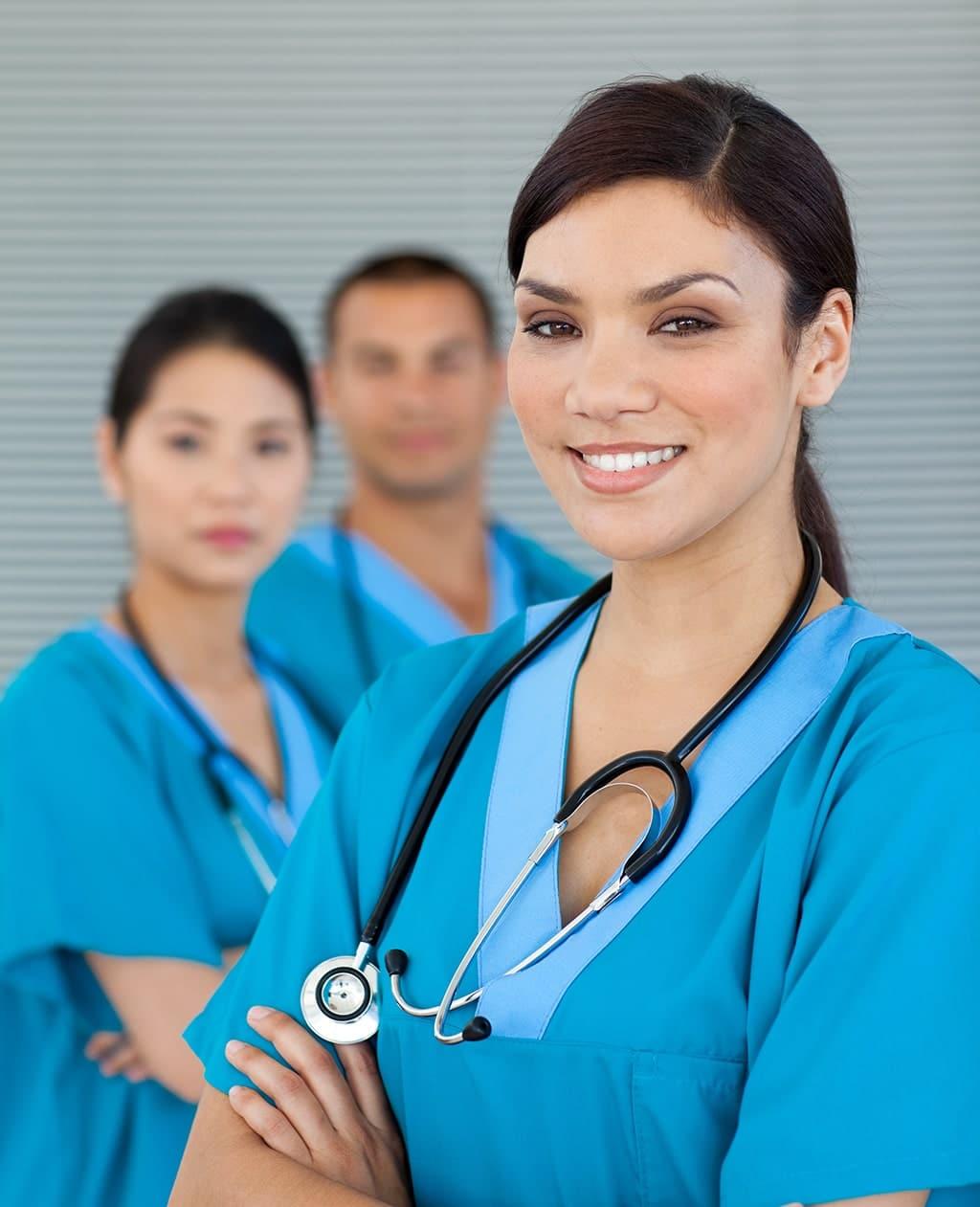 About Us Female Nurse Attractive-min